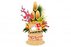 門松は正月飾りのなかで最も重要なものとされています