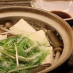湯豆腐、たれ、作り方