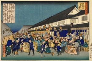 船場は大阪の町人文化の中心的な場所です