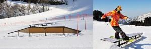 セイモアスキー場のコブ斜面は難易度高いです