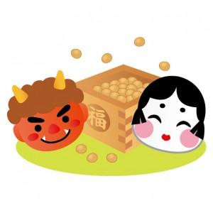 法隆寺では鬼が松明を観客に投げるイベントがある。