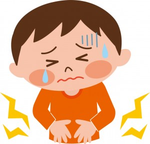 B型ウイルスは、腹痛や下痢などの胃腸症状が出やすい