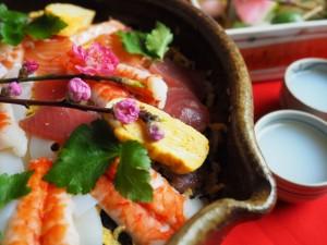 ちらし寿司の具材にはそれぞれ大切な意味があるのです