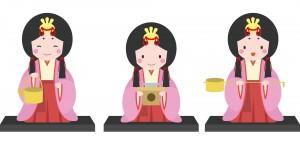 三人官女はお姫様お付きの女官で才能多き女性です。