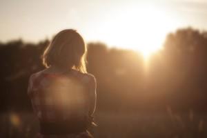 夕陽に向かって心静かに合掌する方法もおすすめですよ