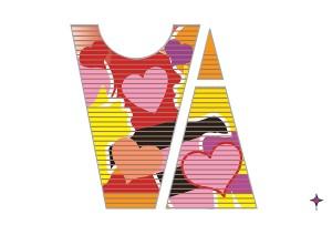 チューリップ地上絵の2016年のテーマは男女の愛!