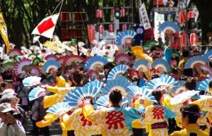 仙台青葉祭りで元気いっぱい笑顔いっぱい貰いましょう