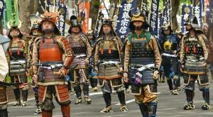 4000人の時代絵巻パレードが青葉祭りのメインです